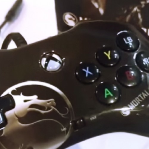 Mortal Kombat X controller for PS4 and Xbox One