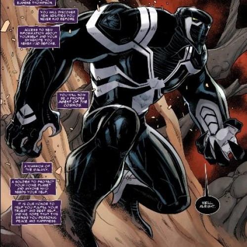 Venom gets a new costume in Guardians of the Galaxy #23