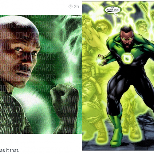 Is Tyrese taking over as Green Lantern?