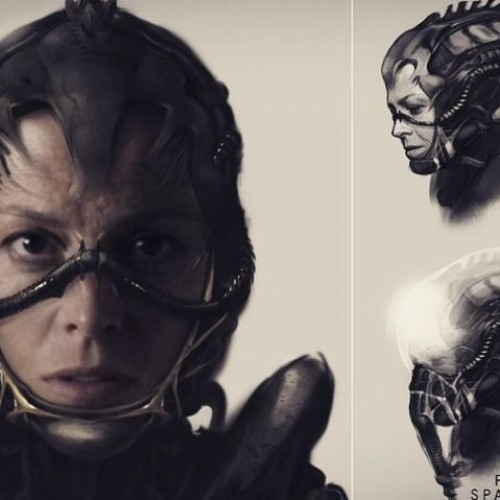 Neill Blomkamp shares Alien and Ripley art
