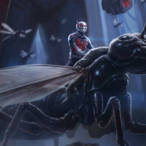 Ant-Man shrinks in new motion poster
