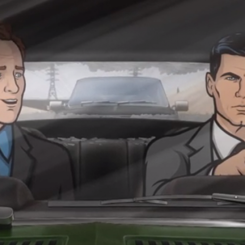 Conan & Archer enter the Danger Zone