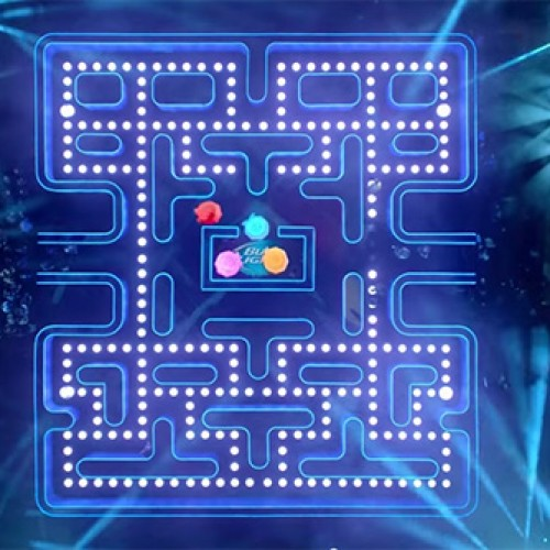 Bud Light's new Super Bowl ad features giant Pac-Man maze