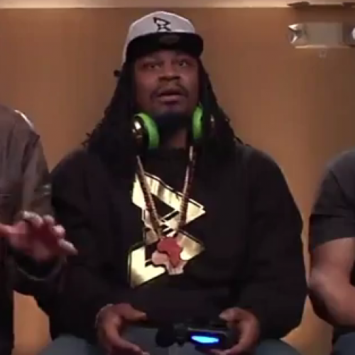 Conan's Clueless Gamer: Marshawn Lynch vs Rob Gronkowski play Mortal Kombat X
