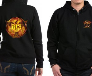 district_13_pride_womens_zip_hoodie mockingjay hunger games