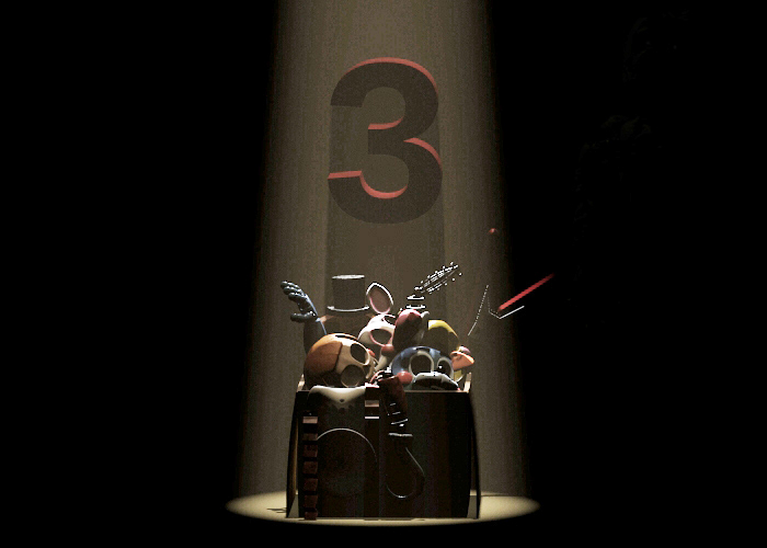 Toy animatronics to return in Five Night's at Freddy's 3