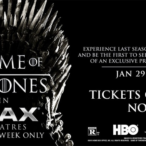 Game of Thrones IMAX theatrical trailer