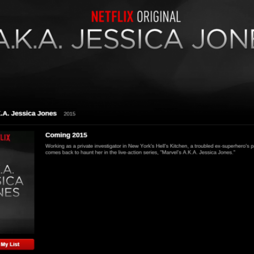 Marvel's A.K.A. Jessica Jones coming to Netflix 2015