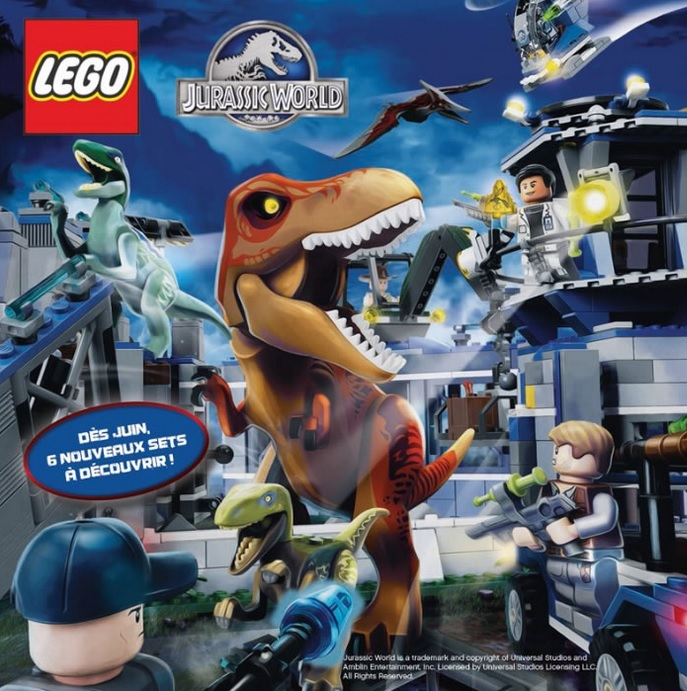 First official look at jurassic world t rex lego set - Jurasic park lego ...