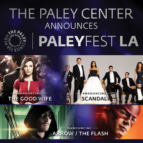 Paleyfest 2015: Arrow/The Flash, The Good Wife, and Scandal