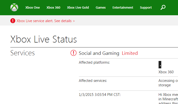 Xbox Live goes down over the weekend - Nerd Reactor