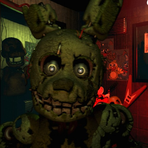 Five Nights at Freddy's 3 only has one extremely creepy animatronic