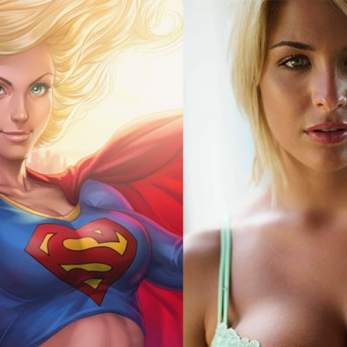 British model and actress, Gemma Atkinson, being eyed for Supergirl?