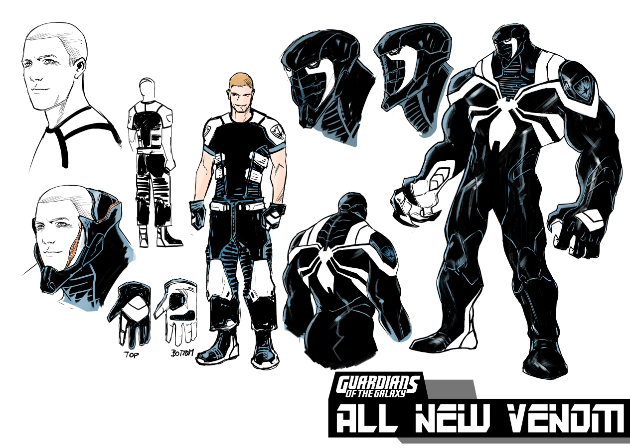 Venom gets a new costume in Guardians of the Galaxy #23 ...