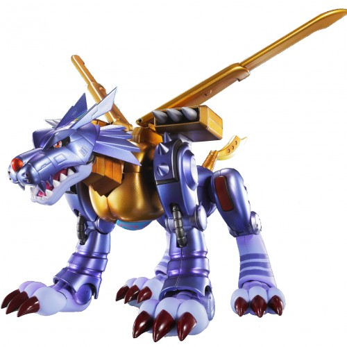 Digimon's Metal Garurumon is getting an S.H. Figuarts this summer