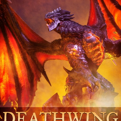 Deathwing Polystone Statue from Sideshow Collectibles