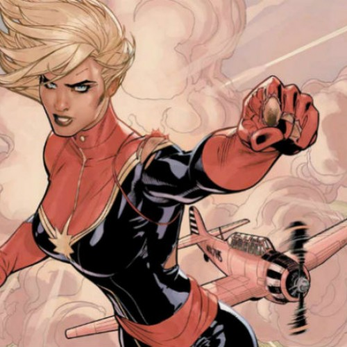 Angelina Jolie to direct Marvel's Captain Marvel?