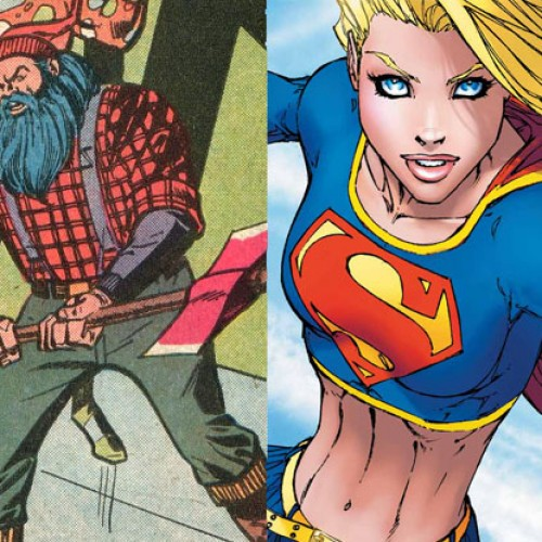CBS to have Supergirl's first villain be…Lumberjack?