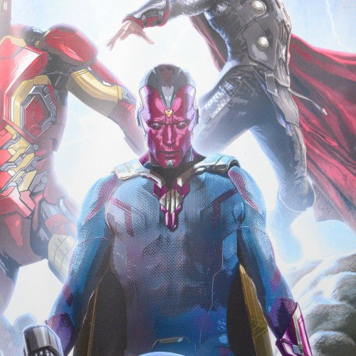 Behold… Marvel releases Avengers: Age of Ultron poster for The Vision