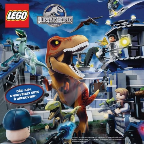 First official look at Jurassic World T-Rex Lego Set