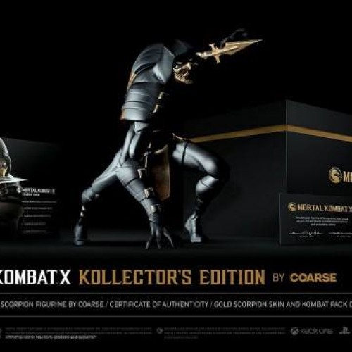 Mortal Kombat X Collector's Edition revealed