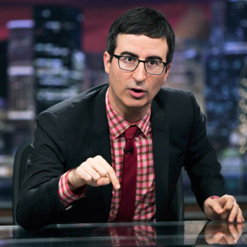 HBO signs John Oliver through 2017