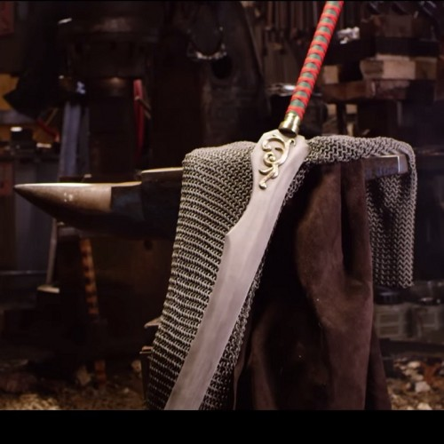 Man at Arms creates Auron's Katana from Final Fantasy X