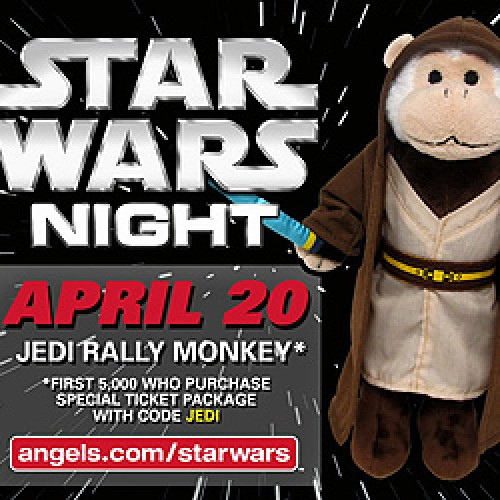 Baseball: Angels game to have Star Wars Night!