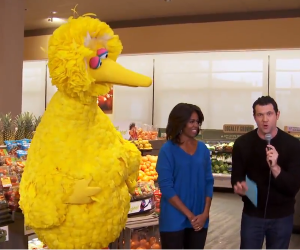 Billy on the Street with FLOTUS and the Bird