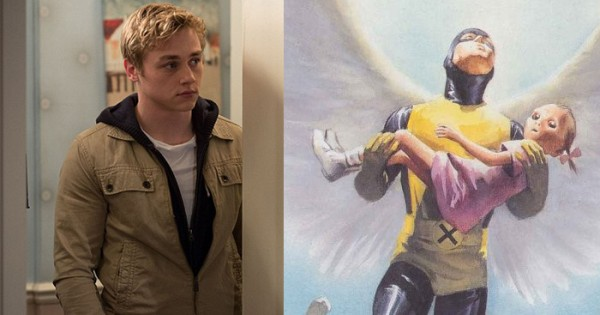 comic-alex-ross-angel- ben hardy x-men