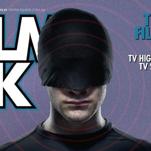 Daredevil graces the cover of Film Ink