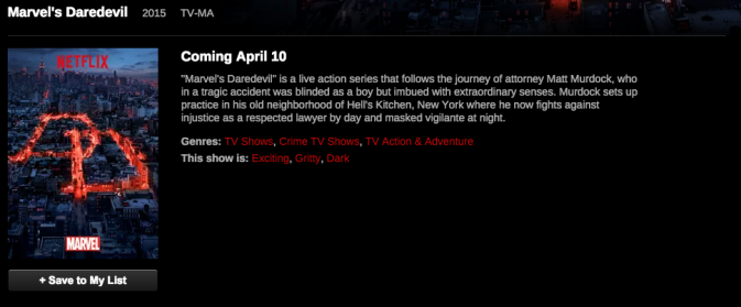 Netflixs Daredevil Will Be Rated Tv-Ma - Nerd Reactor-6770