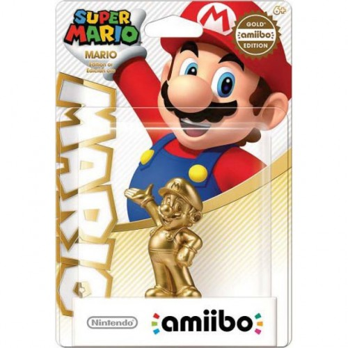 Golden Mario amiibo looking to be a Walmart exclusive