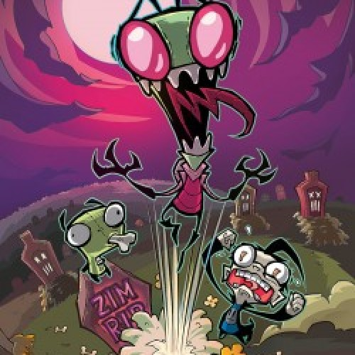 Invader Zim issue #1 confirmed for July release