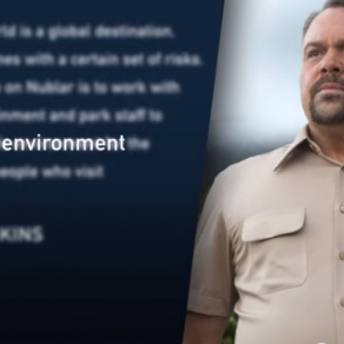 See Vincent D'onofrio as the head of Jurassic World security