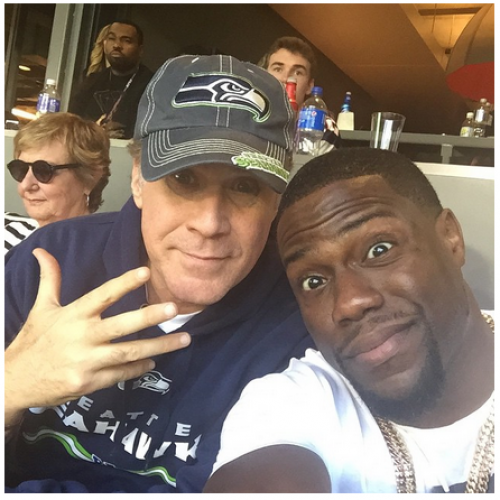 Will Ferrell and Kevin Hart may be the next best comedy duo!
