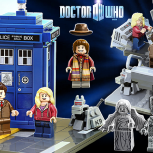 Build your own T.A.R.D.I.S. with Doctor Who LEGO