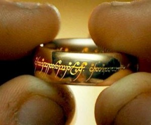 lord of the rings ring frodo