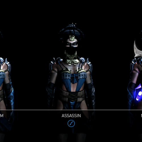 Choose your Kitana style in Mortal Kombat X