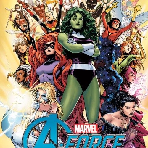 Marvel announces A-Force, an all-female superhero team