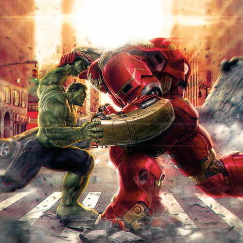 Avengers: Age of Ultron clip pits the Hulkbuster vs the Hulk