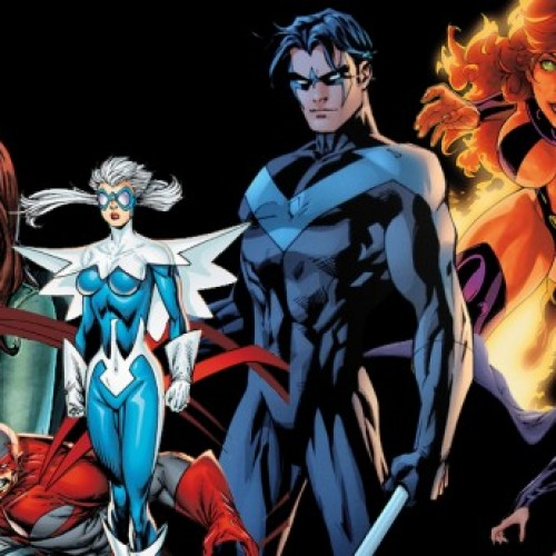 Superheroes we'll be seeing in the live-action Teen Titans series