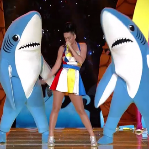 You can now buy Katy Perry's Halftime Show 'Dancing Sharks' costumes