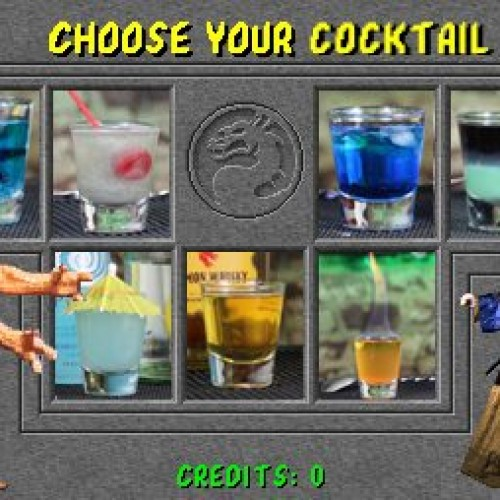 Mortal Kombat cocktails!