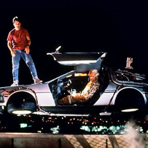 Museum to raffle off 'Back to the Future' DeLorean if the Cubs win the 2015 World Series