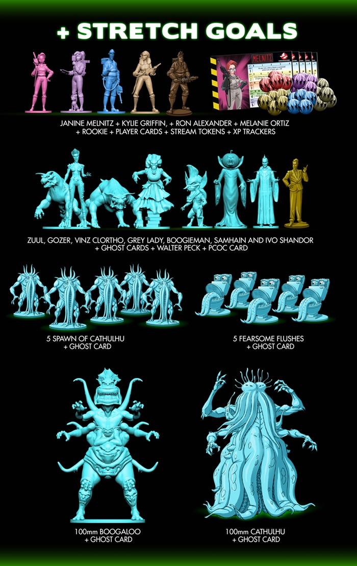 Ghostbusters Stretch Goals