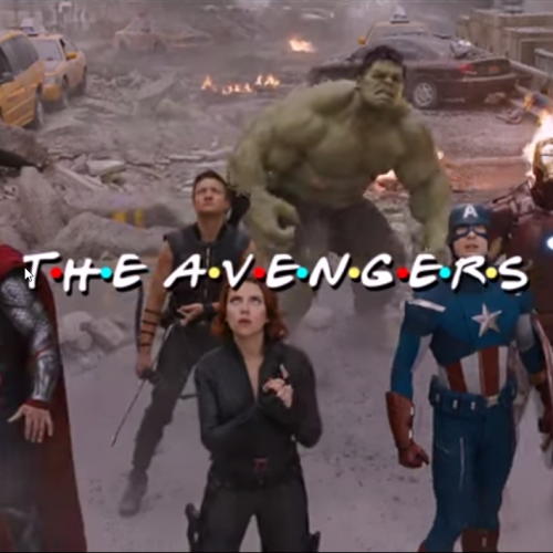 The Avengers get turned into NBC's Friends