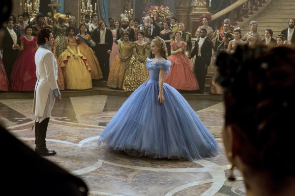 Cinderella blue ball gown