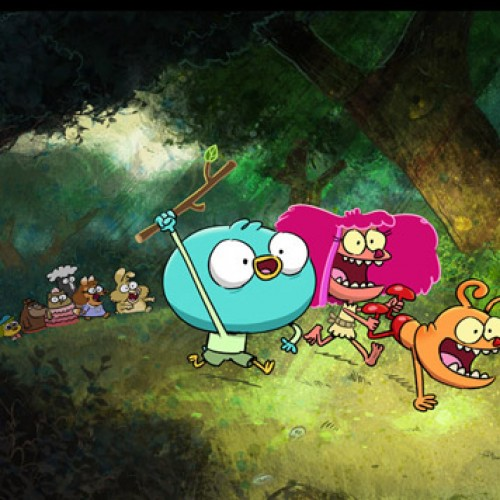 Q&A with Harvey Beaks' C.H. Greenblatt