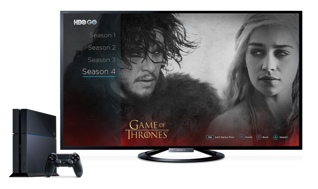 PS4 HBO